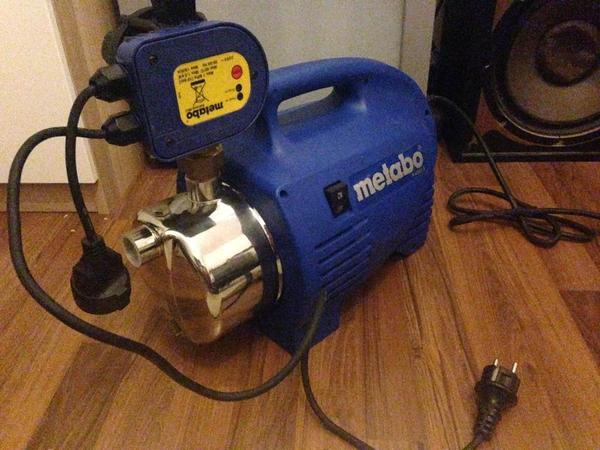 gartenpumpe metabo p 4000 s mit elektr druckschalter in. Black Bedroom Furniture Sets. Home Design Ideas