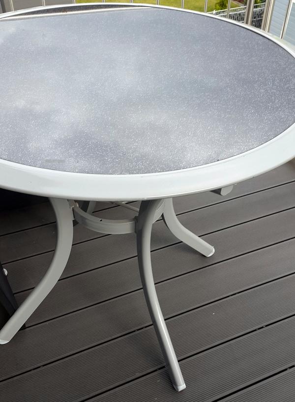 Gartentisch runder neu und gebraucht kaufen bei - Gartenmobel schmiedeeisen gebraucht ...