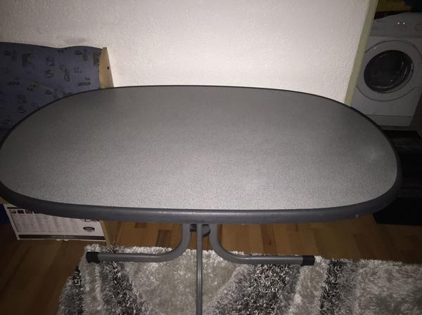 Gartentisch Set 6 Stapel Stuhle Klappbare Tisch Terrassen Tisch