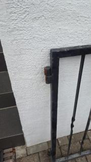 preissenkung gartentor mit rundbogen edelstahl in karlsbad t ren zargen tore. Black Bedroom Furniture Sets. Home Design Ideas