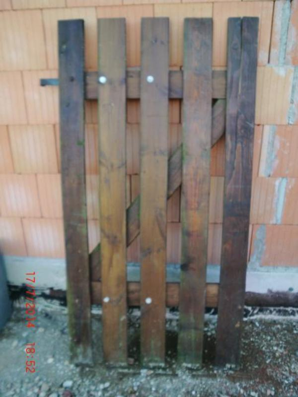 Gartentür Gartentor Schuppentür aus Holz
