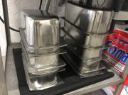 Gebrauchte Edelstahl Eisbehälter