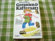 Geranien Kaffeesatz