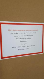 GFK - Rasterdeckenplatten mit Isolierschaumstoff 620 x 620 mm ...