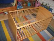 Gitterbett / Kinderbett Massivholz (