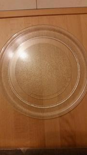 Glasteller für Mikrowelle