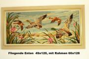 Gobelin Wandteppich Fliegende Enten