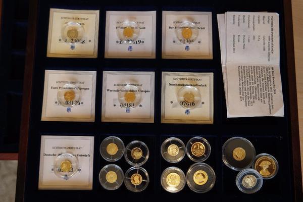 Goldmünzen Polierte Platte 05g 5851000 11mm In Erlangen Münzen