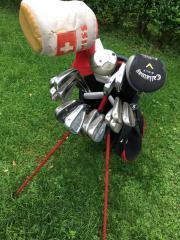Golfbag mit Schlägern