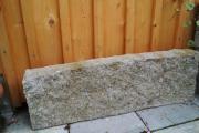Granit-Leistenstein Rabatte L 75 cm