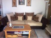 Große gemütliche Couch