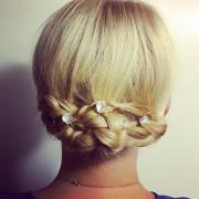 Haare Styling Zöpfe