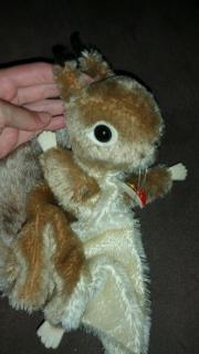 Handspielpuppe Steiff Eichhörnchen