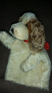 Handspielpuppe Steiff Hund