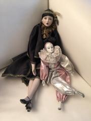 Harlekin Marionetten 50 und 35