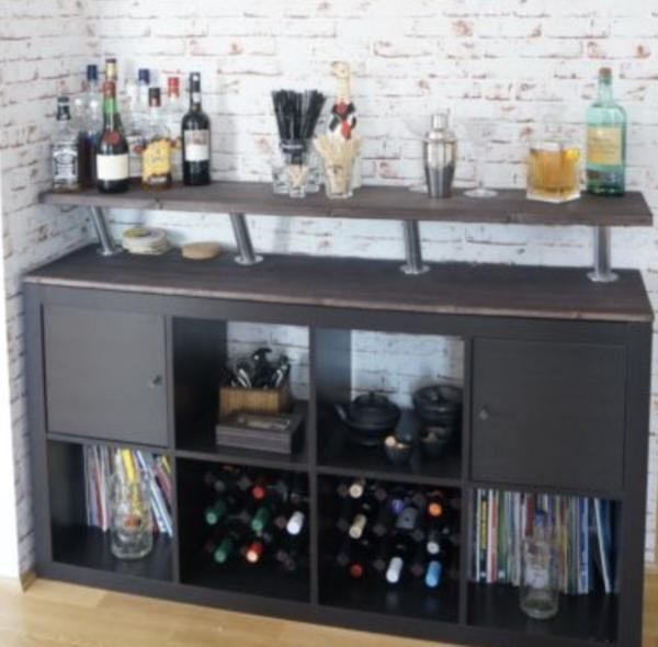 hausbar schrank latest hausbar schrank with hausbar schrank great voglauer with hausbar. Black Bedroom Furniture Sets. Home Design Ideas