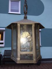 Hauslampe Eisenlampe Schmiedeeisern Fassade E27