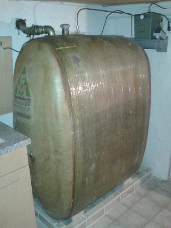 heiz ltank ltank diesel tank in unterreichenbach fen heizung klimager te kaufen und. Black Bedroom Furniture Sets. Home Design Ideas