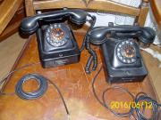 Historische Telephone aus