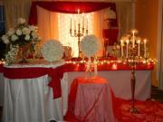 Hochzeitdeko Stuhlhussen Tischdecken