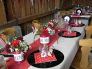 Hochzeitsfloristik u. -dekoration