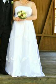 Hochzeitskleid-als Umstandskleid