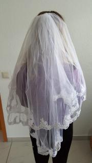 Hochzeitsschleier weiß