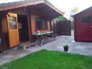 Holz-Blockhaus Ferienhaus
