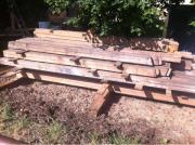 Holzbalken zu verkaufen