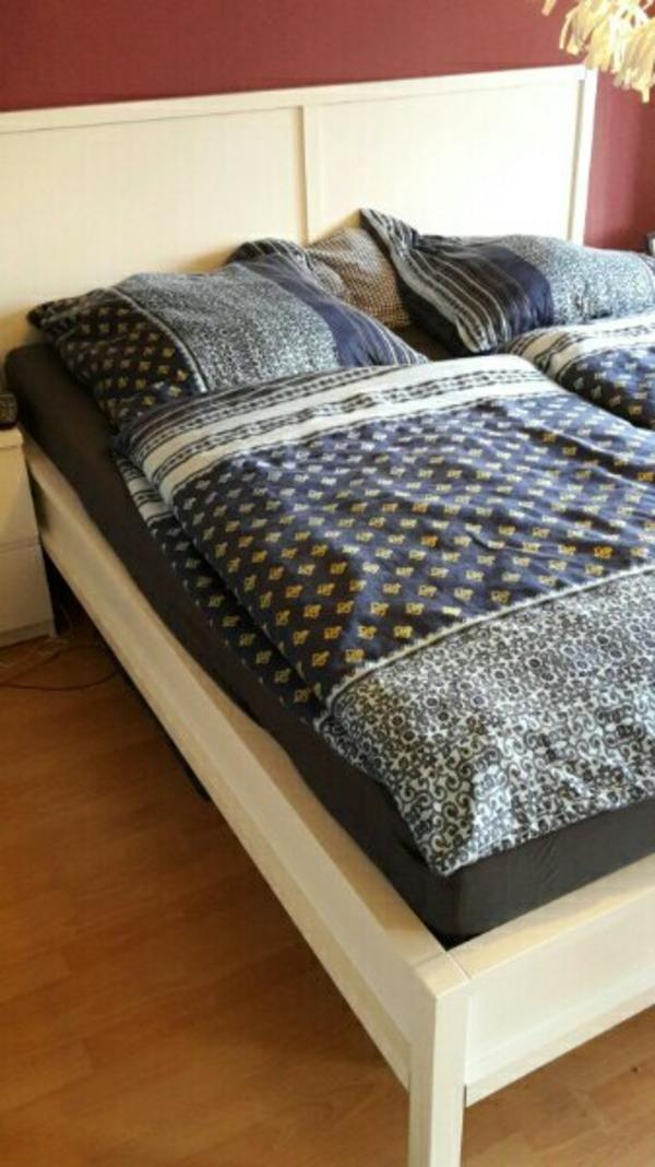 ikea bett noresund neupreis malm bett ikea braun inkl. Black Bedroom Furniture Sets. Home Design Ideas