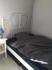 ikea bett leirvik haushalt m bel gebraucht und neu kaufen. Black Bedroom Furniture Sets. Home Design Ideas