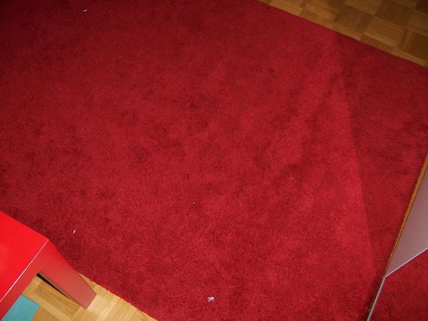 Teppich München ikea ådum teppich langflor 195x133 leuchtend rot in münchen