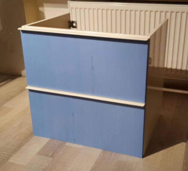 Waschbeckenunterschrank ikea  IKEA Godmorgon Waschbeckenunterschrank Hochglanz weiß - 2 ...