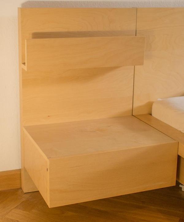 Betten - IKEA MALM Nachttische Nachtkästchen Nachtkonsole ...