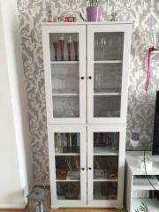 ikea wohnzimmer, vitrine, schrank, sideboard, regal, weiß in ... - Ikea Wohnzimmer Wei