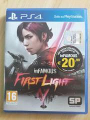 INFAMOUS FIRST LIGHT PS4 uncut gebraucht kaufen  Rödental