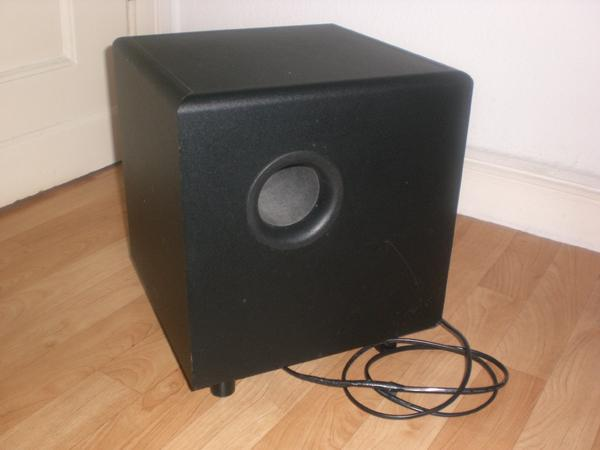 infinity aktiv subwoofer bu 80 in m lheim an der ruhr. Black Bedroom Furniture Sets. Home Design Ideas