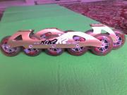 Inlinerschienenpaar K2 Racing USA Farbe
