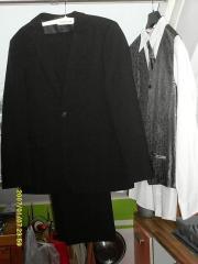 Jugend- Anzug schw. ,
