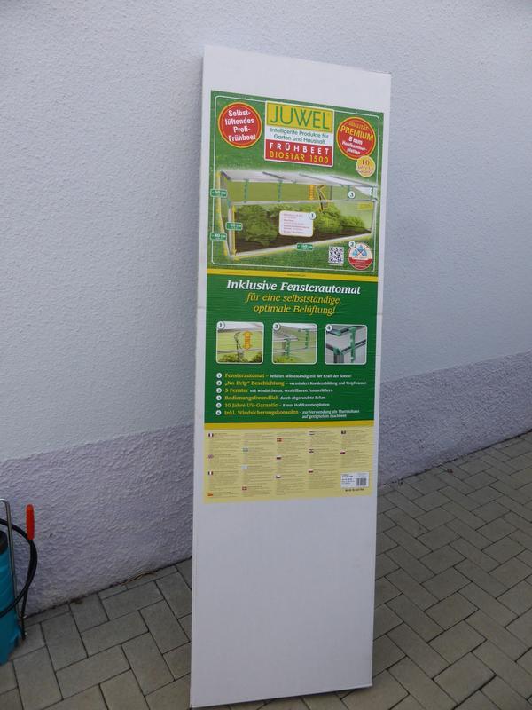 Juwel Biostar 1500 Premium Frühbeet mit Fensteröffner NEU - Heilbronn - Juwel Biostar 1500 PremiumEin hochwertiges Frühbeet mit Hohlkammerplatten und automatischer Belüftung.Das Juwel Frühbeet Biostar 1500 verfügt über eine ausgezeichnete Wärmeisolierung durch die Juwel Thermo-Hohlkammerplatten. Diese sind a - Heilbronn