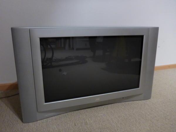 JVC AV32H50SU Fernseher - Freising - JVC AV32H50SU Bildschirmdiagonale 81cm, B94×H56×T56 gegen Abholung zu verschenken. Voll funktionsfähig. - Freising