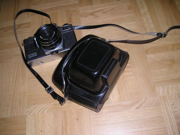 Kamera mit Blitzlicht 70Jahre