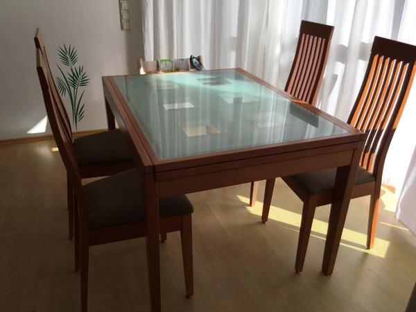 kare esszimmer tisch und stühle in tutzing - speisezimmer, Esstisch ideennn