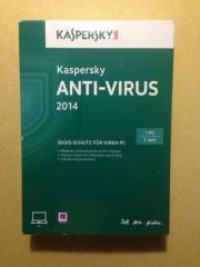Kaspersky Antivirusprogramm 2014