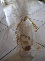 Kerze mit Ständer mit Kerzenständer