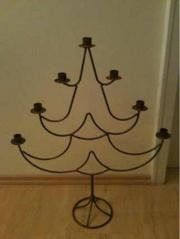 Kerzenständer Dreieck Metall