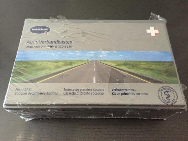 Kfz Verbandskasten für PKW Auto