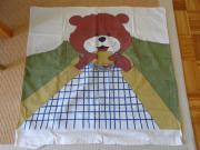 Kinderbettwäsche Familie Teddy beim Picknick