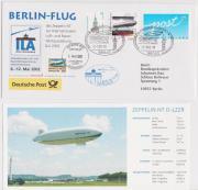 Kinderdorf-Flugpost - Ganzstück Zeppelin® NT Beleg