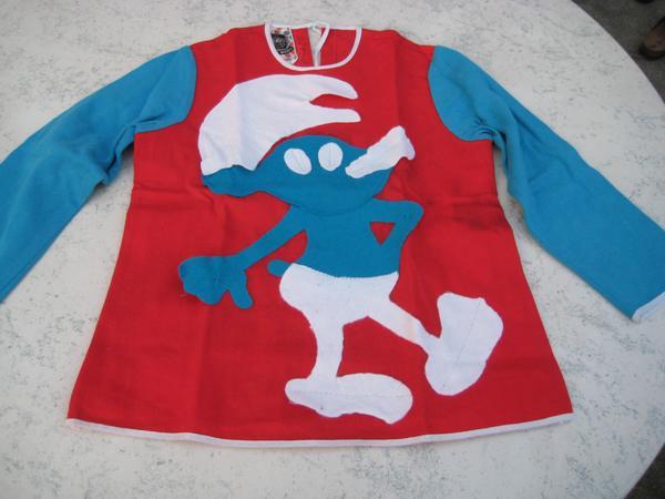 Kinderfaschingskostüm Schlumpf
